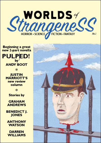 Cover of Worlds of Strangeness issue 1